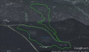 XTERRA Victoria Trail Run course
