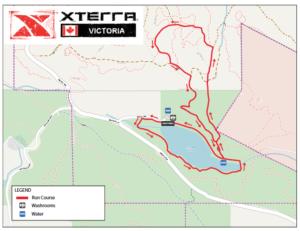XTERRA Trail Run course